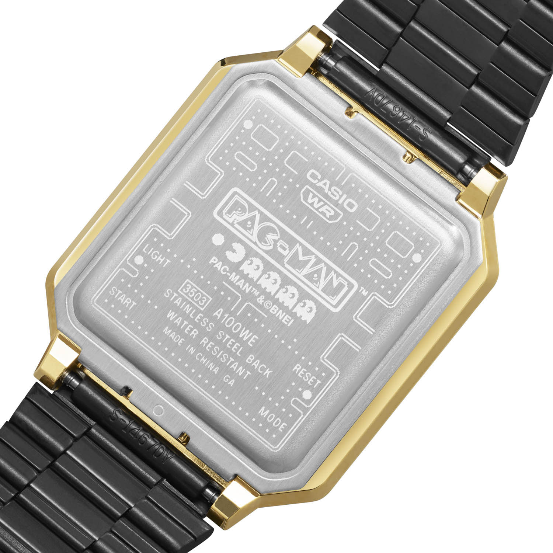 Casio introduceert uniek PAC-MAN horloge
