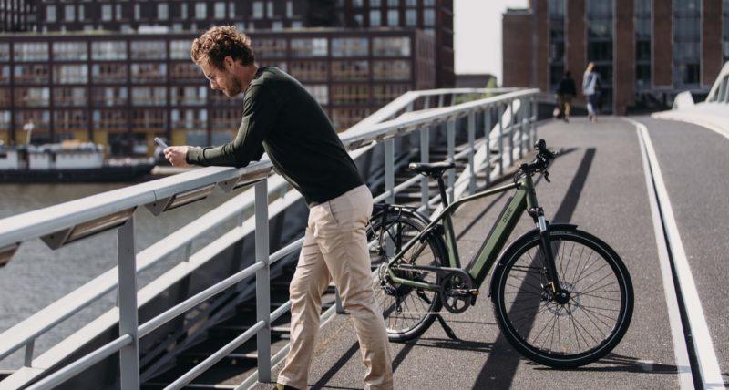 QWIC app elektrische fiets