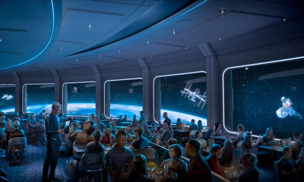 Space 220 Disney Restaurant