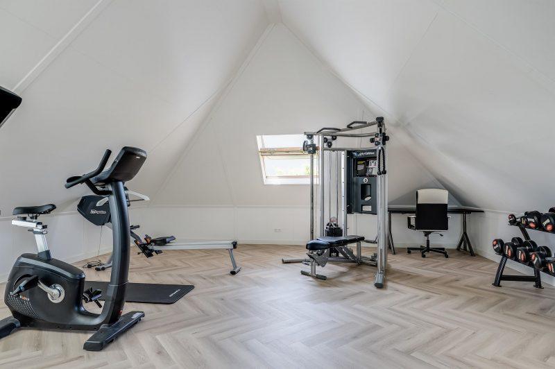 funda, villa, gym