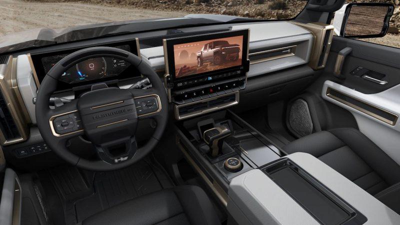GMC Hummer EV elektrische auto