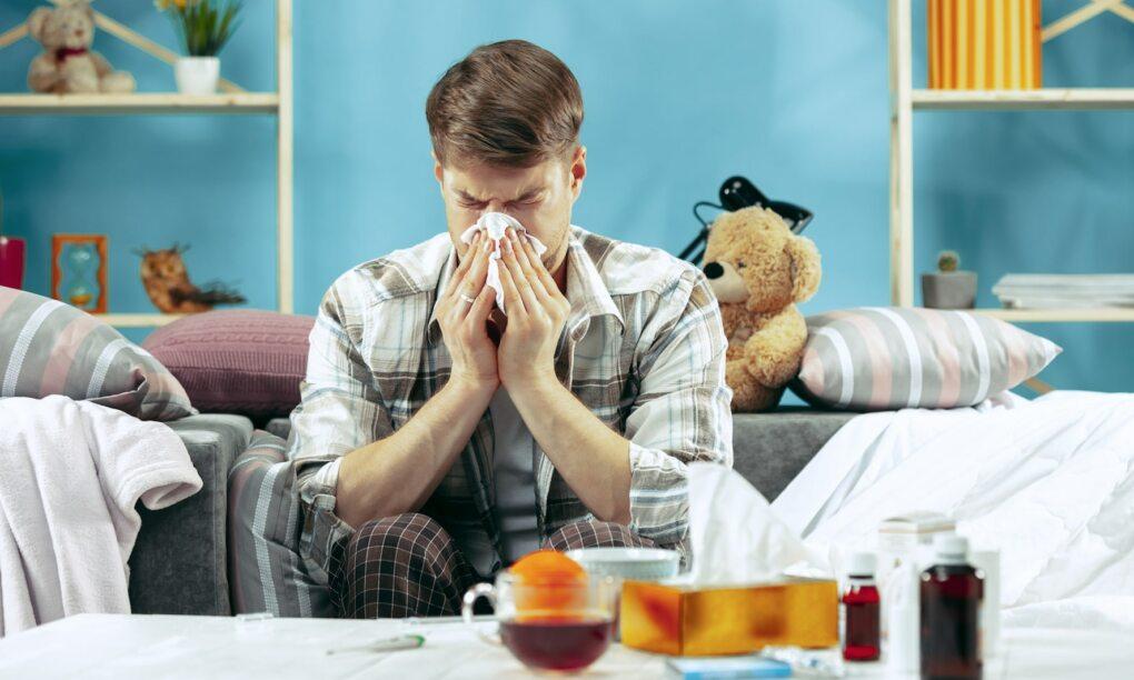 mannen zieker aanstelleritis