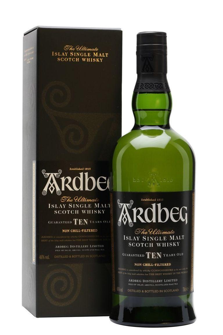 scotch whisky Ardbeg 10 Year Old