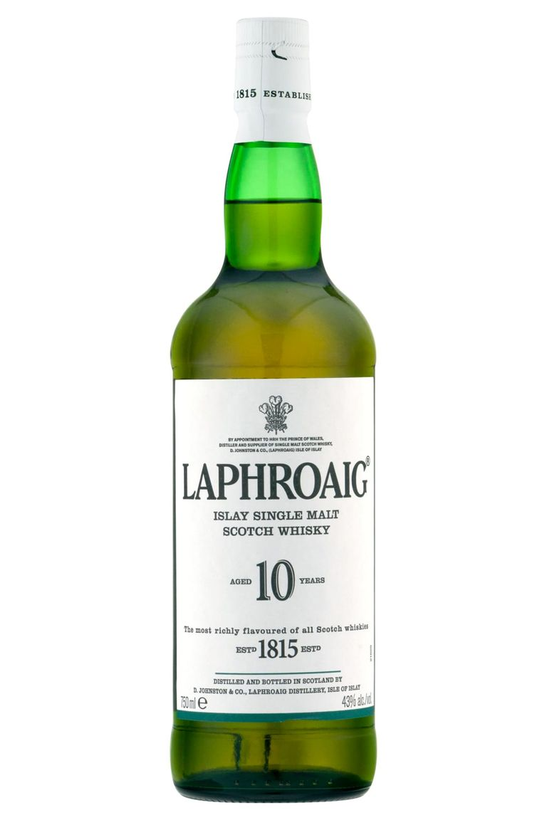 scotch whisky Laphroaig 10 Year Old Islay Single Malt Scotch Whisky