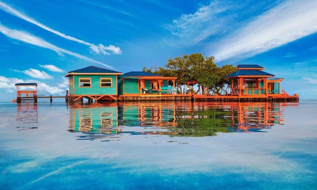 Airbnb privé eiland Belize