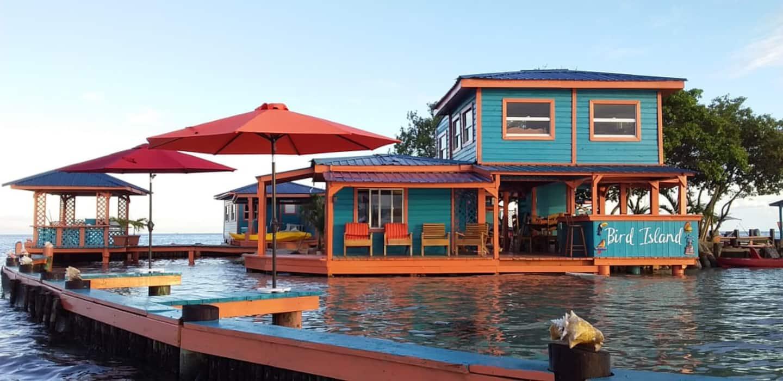 Airbnb prive eiland Belize 2