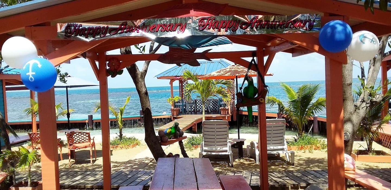 Airbnb prive eiland Belize 5