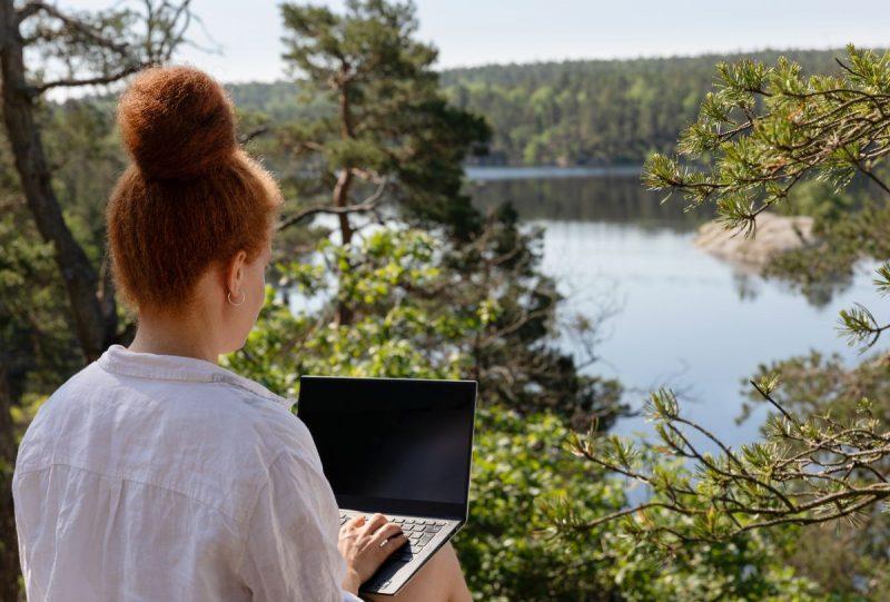 workation zweden werken gezondheid