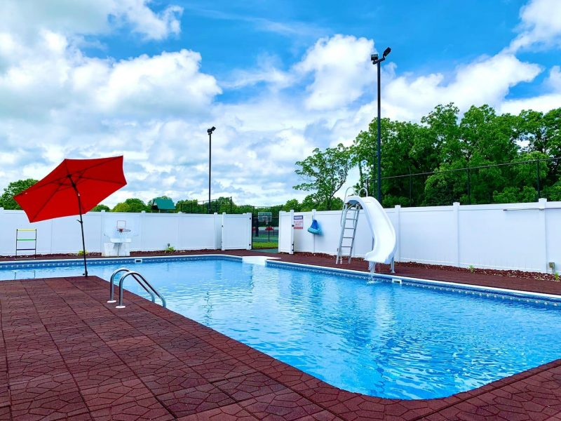 airbnb racebaan zwembad