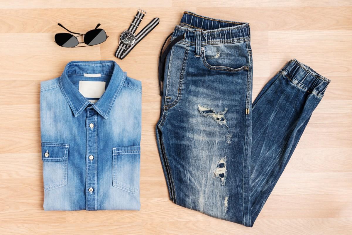heren jeans combineren outfit